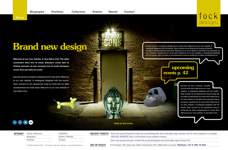 Webdesign Interieurontwerp