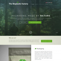The Bioplastic Factory..we do good, but we want to do great with our new website!